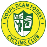 the logo of the Royal Dean Forest Cycling Club