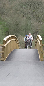 Cannop cycle bridge