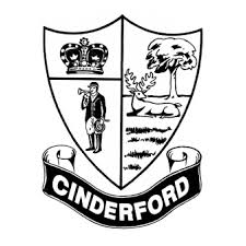 The logo of Cinderford Town Council