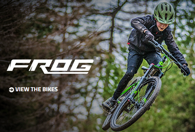 Frog Bikes ad - great bikes for kids