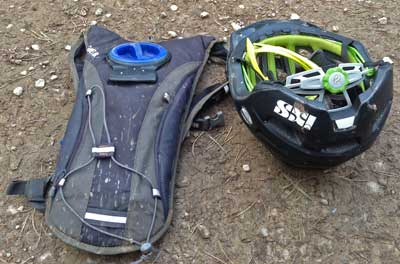 Lost and found items on the 2015 XC Enduro