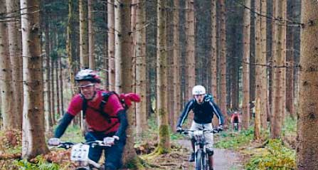 A photo taken on a Forest of Dean XC Enduro
