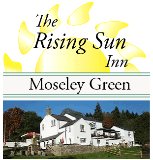 A photo of the Rising Sun Inn at Moseley Green.