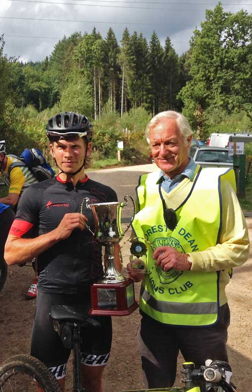 Winner of the 10th Forest of Dean Enduro
